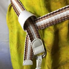 Relic Reversible Woven Fabric Fashion Neutral Tones Belt Size Large-New