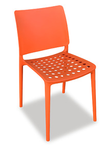 4 x Holey Chair - Orange - Perfect For Outdoor Dining