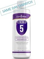 LIPOGAINE THE BIG 5 PREMIUM ORGANIC HAIR LOSS & ANTI DHT SHAMPOO FOR MEN & WOMEN