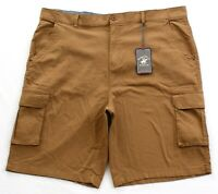 Beverly Hills Polo Club Brown Stretch Cotton Cargo Shorts Men's NWT