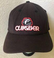 BLACK QUICKSILVER BASEBALL CAP HAT