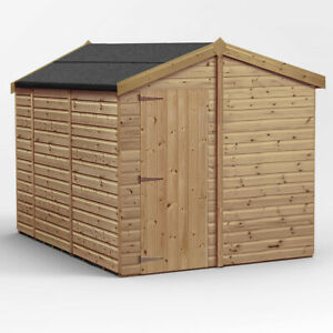 10x8 Wooden shed Apex