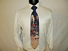 Excellent PIERRE CRDIN men's vintage 100% silk necktie TIE 55X4