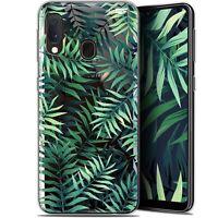 "Coque Gel Samsung Galaxy A20E (5.8"") Extra Fine - Feuilles des Tropiques"