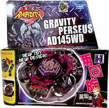 Gravity Destroyer Perseus Beyblade Set NIP w/ BeyLauncher L-R STRING LAUNCHER!