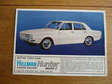 HILLMAN HUNTER MK II Brochure