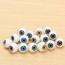 8PCS 14mm Round Acrylic Doll Bear Craft Plastic Eyes Eyeball for Halloween
