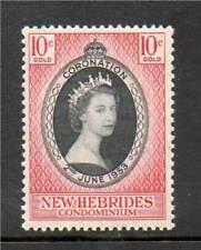 New Hebrides 1953 Coronation SG 79 MNH