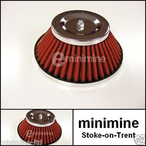 """Classic Mini Cone Type Air Filter for 1"""" 1/2 Carb HS4 austin morris mg"""