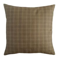 """Handmade Cotton Blended Plaid Pattern 18""""x18"""" Throw Pillow Case/Cushion Cover"""
