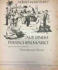 Auf einem persischen Markt