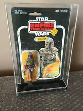 Vintage 1980 Kenner Star Wars 1982 ESB 41 Back BOBA FETT Free Acrylic Case Look!