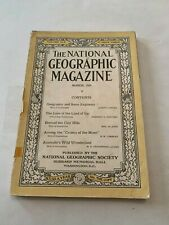 1924 National Geographic Magazine Geography And Some Explorers