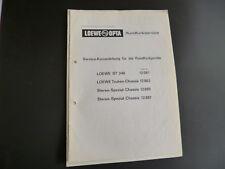 Original Service Manual loewe st240