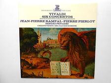 LP ERATO STU 70473 VIVALDI Six Concertos RAMPAL PIERLOT PENAZZI Cl. SCIMONE