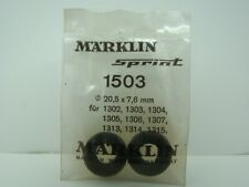 MARKLIN SPRINT - 1503 - 2 PNEUS AVANT DIAMETRE 20,5 x 7,6 MM - NEUF - SLOT CAR -