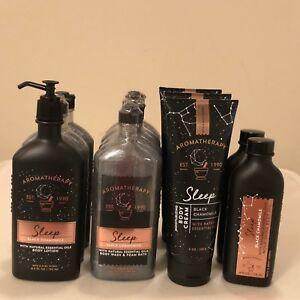 Aromatherapy Sleep Black Chamomile Body Lotion Wash Cream Oil BBWorks Pick 1