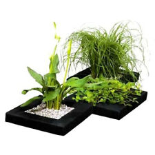 More details for floating pond plant baskets - 25cm width, square potted plant lilly island float