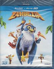 Blu-ray 3D + Blu-ray 2D **ZAMBEZIA** nuovo sigillato 2013