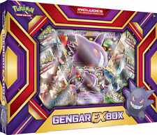 Gengar EX Booster Box POKEMON TCG Evolutions Sealed 4 Booster Packs and Promo
