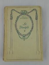 Le Disciple by Paul Bourget Hardcover Vintage Nelson