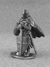 Action Figures Toy Knight of the Teutonic Order Tin Metal 1/32 Soldiers 54mm