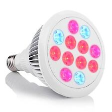 [Lifetime Warranty] Plant Light, InaRock Newest 12W Plant Led Grow Light E27 for