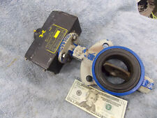 """Keystone Controls Pneumatic Actuator 020-790-200 w/ 3"""" Resilient Butterfly Valve"""