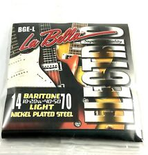 La Bella Guitar String Electric Baritone Light 14-70 Nickel Plated Steel