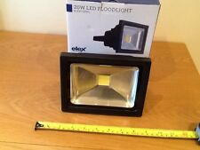 led floodlight,superior quality,Elex 20 watt ,cool white,rrp £29.00