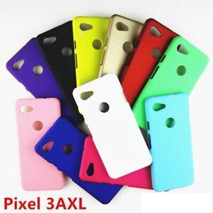 For Google Pixel 5A 5G / 5 /4A 5G 4G / 4 3 3A XL Matte PC Hard Back Cover Case