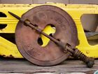 Rare 3 Vintage Stove Pipe Dampers Cast Iron Arcade, Diamond And Griswold 6 Inch