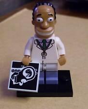Lego Die Simpsons Figur - Dr. Hibbert ( Doktor Arzt Hibert komplett The ) Neu