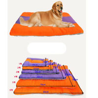 Small Soft Warm Fleece Pet Dog Puppy Cat Animal Blanket Bed Mat Kennel Pad