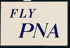 84435) aerea vignette Air mail label, Fly PNA, piccole lacune, ma raramente