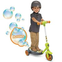 Huffy Electric Scooter 6V 2-in-1 Dragon Green Bubbles NEW
