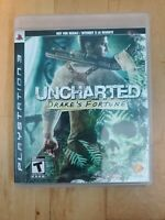 Uncharted: Drake's Fortune - Sony PlayStation 3, 2007 - Black Label