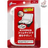 New Nintendo New 3DS LL CYBER rubber coat grip slim white F/S from Japan