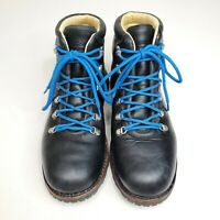 Merrell Men's Rugged Wilderness USA Black Leather Hiking Trail Boots Size 13