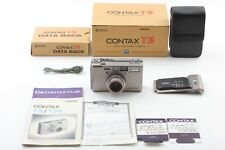【TOP MINT in Box】Contax T3 35mm Point & Shoot Film Camera w/Data Back from JAPAN