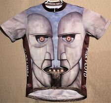 Primal Wear Pink Floyd Division Bell Cycling Jersey Mens Size Large T-Shirt