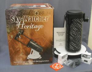 Sky-Watcher Heritage reflector telescope parabolic mirror 130mm d boxed