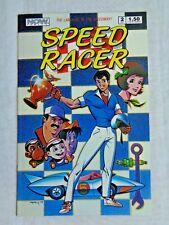 Speed Racer Vol. 1  No. 2 Oct.. 1987 NOW Comics 1st Printing Sept. 1987 NM (9.4)