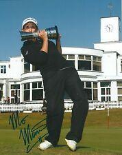 Mo Martin signed Lpga 8x10 British Open Trophy photo with Coa