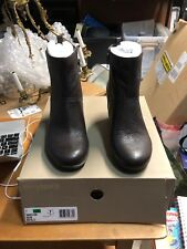 Easy Spirit Eselbe 24 Ankle Boots Booties Leather Dark Brown Women's Size 7