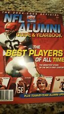 NEW 2004-2005 NFL ALUMNI GUIDE & YEARBOOK, BEST PLAYERS