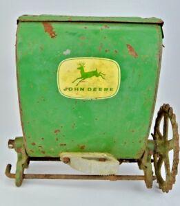 Vintage John Deer Steel Seeder Spreader