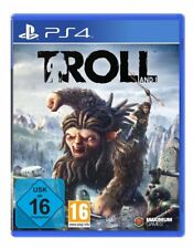 PS4 GAME TROLL AND I NEW