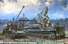 Hasegawa 1:72 60cm/54cm Morser Karl 040/041 SPG & Munitionspanzer IV Model Kit