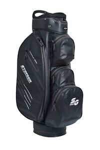 Stinger Waterproof Golf Cart Bag with Rain Hood and Umbrella Storage Black/Grey